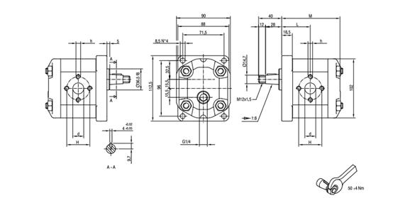 380v电机滚轮正反转电路图